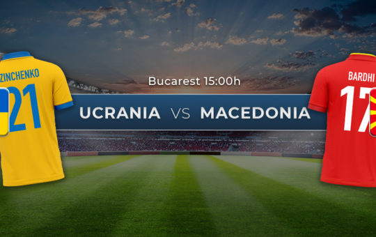 Ucrania vs Macedonia del Norte