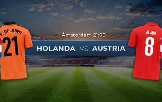 Países Bajos vs Austria