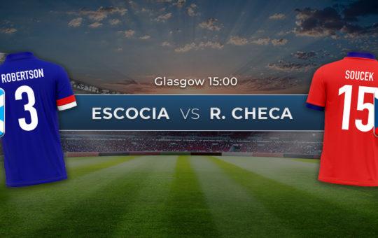 Escocia vs República Checa