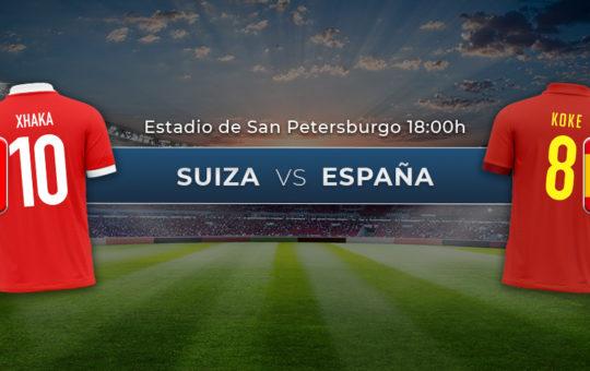 Suiza vs España